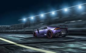 cars lamborghini blue lamborghini huracan super car cars hd 4k wallpapers