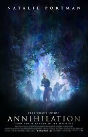 ex machina poster poster to alex garland s sci fi thriller annihilation starring