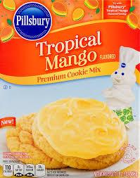 pillsbury tropical mango premium cookie mix 17 5 oz walmart com