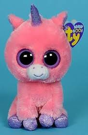 ty beanie boo 6 current pink u0026 purple unicorn magic 36063 nwt