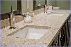 quartz bathroom countertops with sink bathroom home design
