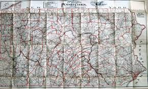 County Map Pennsylvania by 1900 U0027s Road Maps Of Pennsylvania