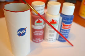 astronaut toilet paper tube space craft for kids