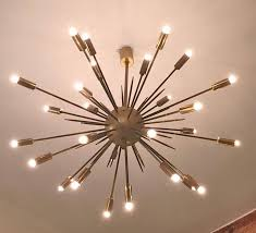 Sputnik Chandelier Original Stilnovo Sputnik Chandelier At 1stdibs