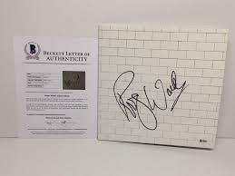 wall vinyl roger waters signed pink floyd