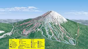 Oregon Volcano Map by Mt Bachelor Skimap Org