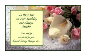 birthday blessings for mom greeting card happy birthday