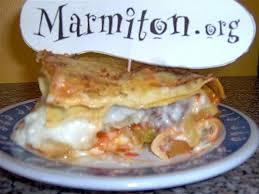 cuisiner la courgette lasagnes courgettes chair à saucisse de magali recette de lasagnes