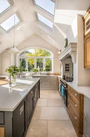 the 25 best kitchen extensions ideas on pinterest extension stunning kitchen extension pitched roof vaulted ceiling velux rooflight modern shaker style