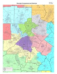 Map Of Metro by Government Georgia Congressional Districts Metro Atlanta Map