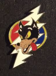 grateful dead lightning bolt wolf pin grateful dead wants