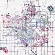map of fresno fresno map california painting by map map maps