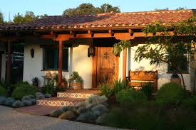 Tuscan Home Accessories Eco Friendly Landscape Design By Lisa Cox For Hacienda Style Home