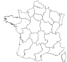Map Of The World Blank by Maps Of The Regions Of France