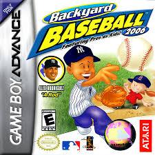 Play Backyard Baseball 2003 Play Backyard Baseball 2006 Nintendo Game Boy Advance Online