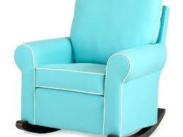 rocking chair recliner nursery gray fabric modern nursery swivel