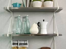 Wall Mounted Bakers Rack Kitchen Kitchen Wall Shelves And 28 Ikea Kitchen Island Hack