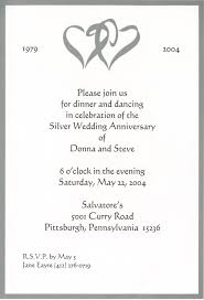 Invitation Card Application Marriage Anniversary Invitation Card 25 Marriage Anniversary