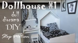 Diy Fandom Dollhouse Cute Miniature by Diy Dollhouse 1 How To Make Room For Doll Stop Motion Pullip