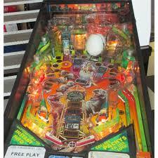 the lost world jurassic park jurassic park pinball machine the lost world by sega