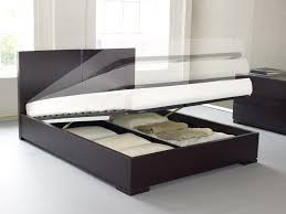Black Modern Bed Frame Bedroom Attractive Picture Of Bedroom Design And Decoration Using
