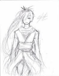 samurai sketch by tsukipan on deviantart