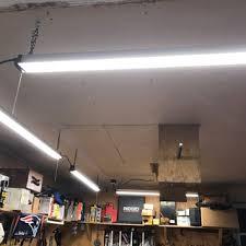 linkable led shop lights linkable 4000 lumen 4 led shop light shop lights
