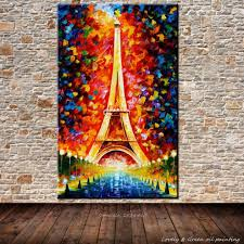 online get cheap handmade oil painting eiffel tower aliexpress