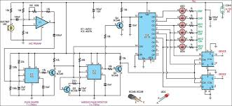 clap to turn off lights controlled switch circuit diagram