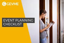meeting planner checklist template event planning checklist