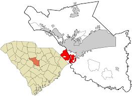 Columbia Sc Map Cayce South Carolina Wikipedia