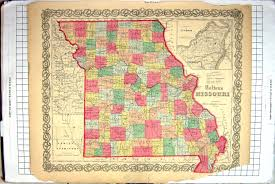 St Louis Mo Map 26 Print Map North America Missouri St Louis Texas Howard Nevada