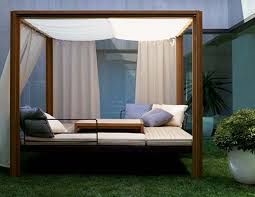 backyard canopy bed home outdoor decoration