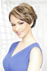 short hairstylescuts for fine hair with back and front view short hairstyle blow dry your hair back and away from your face use
