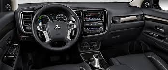 mitsubishi asx 2018 interior 2018 mitsubishi outlander phev hybrid electric suv mitsubishi