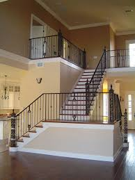 Banister And Handrail Interior Railing Metal Fabrication Aluminum Fabrication