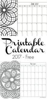 print calendars for 2017 2017 printable wall desktop or binder calendars organizing
