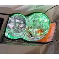 2005 jeep grand fog lights jeep grand v 3 fusion color change led halo headlight kit