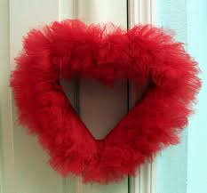 heart wreath diy how to make a tulle heart wreath catch my party