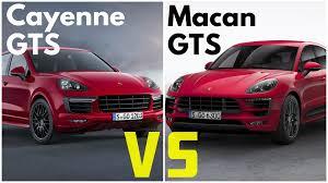 Porsche Macan Red - 2017 porsche macan gts vs porsche cayenne gts youtube