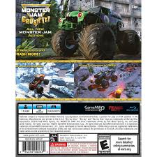 videos of monster trucks crushing cars monster jam ps4 walmart com