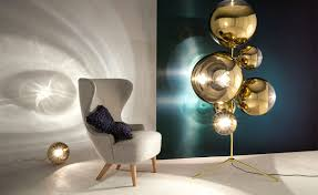 hive modern mirror ball floor lamp with modern glass xcf3341 buy and 5