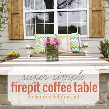 Diy Firepit Table Pit Table Top