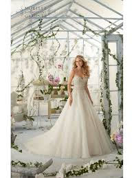 wedding dresses without straps mori 2824 organza gown with shoe string straps ivory silver