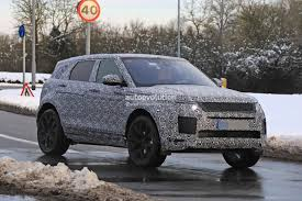 first range rover ever made spyshots 2019 range rover evoque has production all led