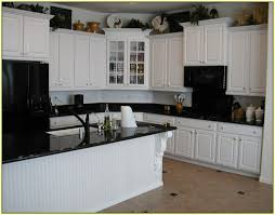 White Kitchen Black Island 66 Best Granite Counter White Cabinet Images On Pinterest