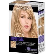 highlights vs frosting of hair l oreal paris frost and design hi precision pull through cap