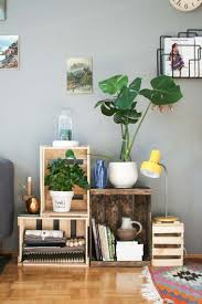 Design Your Livingroom Decorate Your Living Room With Wooden Storage Boxes 20 Ideas To