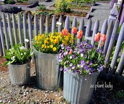 trash can planters archives ramblings from a desert garden