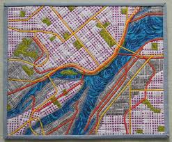 map quilt 345 best images about quilt inspiration on indigo
